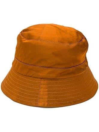 Ymc You Must Create flat top bucket hat - Brown
