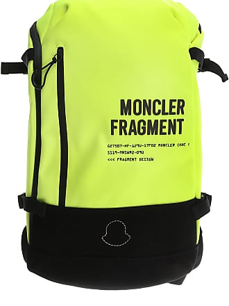 Moncler Backpack for Men On Sale, fluo yellow, Nylon, 2017, one size