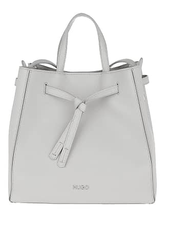cf714aad1a505 HUGO BOSS Mayfair Drawstring Bag Medium Grey Tote grau