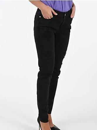 Just Cavalli Stretch Denim Distressed Jeans size 27