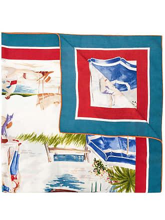 Loro Piana print neck scarf - Multicolour