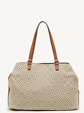 e1bc68fa5 Sole Society Womens Millie Tote Fabric Taupe Geo Faux Leather Woven From Sole  Society