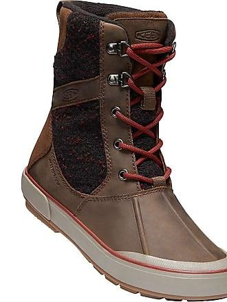 c4cb9ed7fb0a Keen Womens Elsa II Wool Waterproof Boot - 8.5 - Cascade Brown   Fired Brick