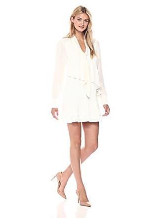 Parker Womens Kenji Combo Dress, Pearl, S