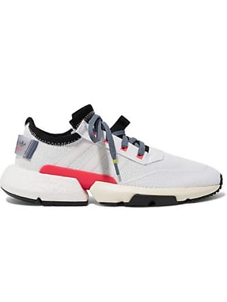 adidas Originals Pod-s3.1 Rubber-trimmed Stretch-knit Sneakers - White