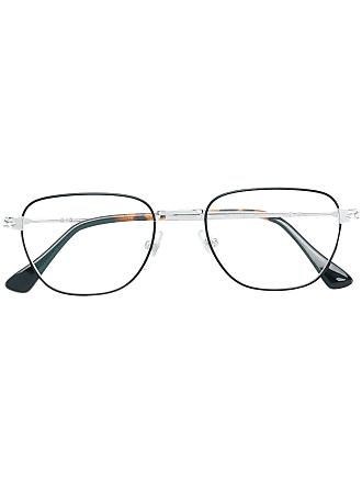 Persol Óculos quadrado - Metálico