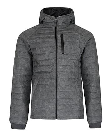 7c0f5569686 Threadbare Mens Glendale Puffer Jacket Charcoal - Large