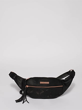 Colette by Colette Hayman Black Taylor Punchout Belt Bag