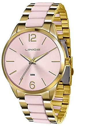 Lince Relógio Lince Feminino Ref: Lrt4442l R2kr Fashion Dourado