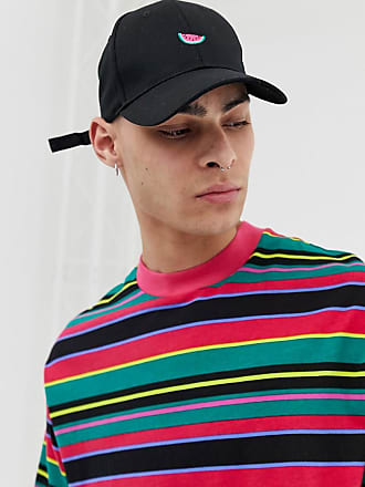 8479b780fb9 Asos baseball cap in black with watermelon embroidery