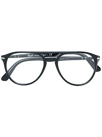 Persol Óculos de grau aviador - Preto