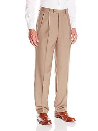 1c7826fbfe64 Louis Raphael Mens Herringbone Straight Fit Pleated Dress Pant
