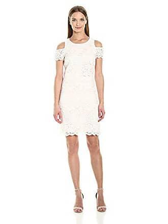 8fbda18f0bc Jessica Simpson Womens Cold Shoulder Lace Pop Over Dress