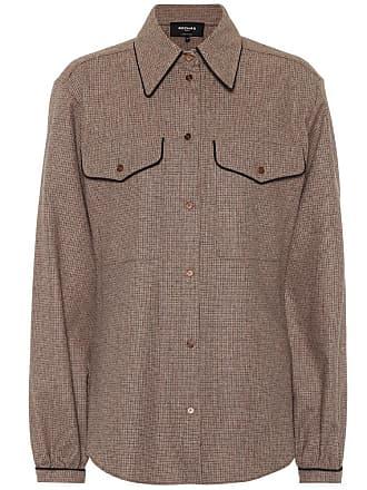 Rochas Checked wool-blend shirt