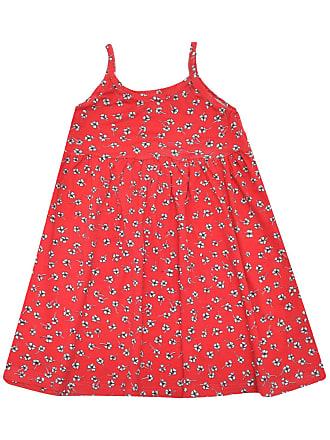 Rovitex Vestido Rovitex Menina Floral Vermelho