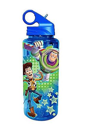 Disney Silver Buffalo TO9964 Disney Pixar Toy Story Action Tritan Water Bottle, 20-Ounces
