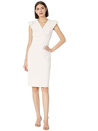 82b936d0 Calvin Klein Puff Sleeve Sheath Dress (Blossom) Womens Dress