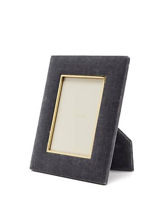 Aerin Valentina Large Velvet Photo Frame - Navy