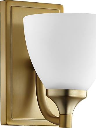 Quorum Enclave 1 Light Wall Mount - Agb