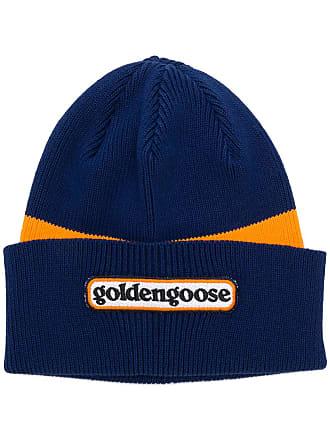 Golden Goose Gorro color block - Azul