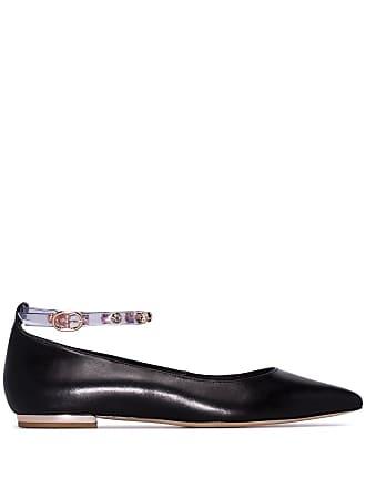Sophia Webster Sapato Dina com cristais - Preto
