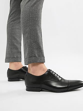 Ted Baker Murain oxford shoes in black leather - Black