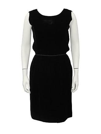 1115e91cc21 Dior 1960s Christian Dior London Black Velvet Cocktail Dress