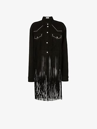 Faith Connexion fringed studded suede jacket