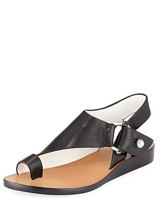 e22000ceaf2 Rag   Bone Arc Flat Leather Toe-Ring Sandals