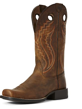 69a8c02c1c7 Ariat Mens Sport Picket Line Western Boots in Sorrel Crunch Leather