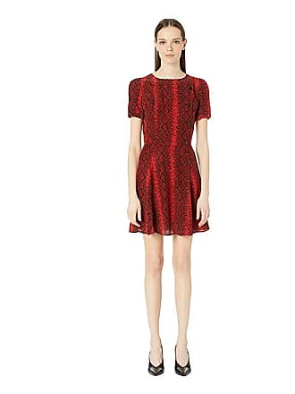 5bcddd49a82b The Kooples Red Hot Snake Print Dress (Red) Womens Dress