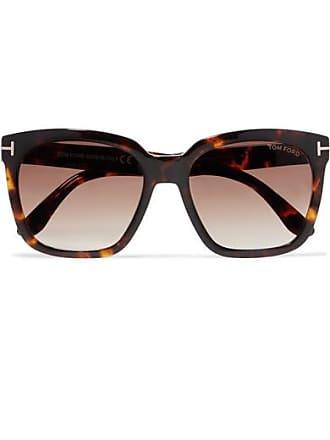 cb57c7bf2ff23 Tom Ford Amarra Square-frame Tortoiseshell Acetate Sunglasses - Brown