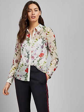 Ted Baker Hedgerow Blouse in Ivory SHIVANY, Womens Clothing