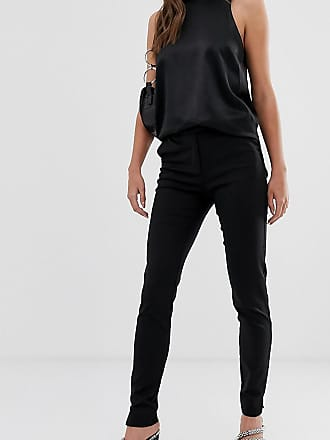 Y.A.S. Tall ecco tailored ankle length cigarette trouser in black
