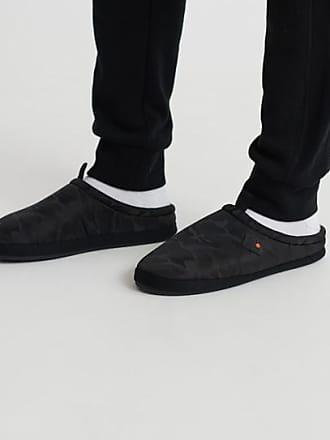 UK 10 Homme Rohde 1550 Pantoufles noir noir