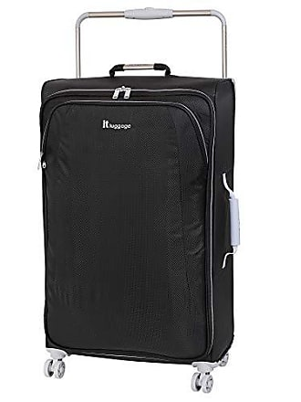 IT Luggage IT Luggage 31.5 Worlds Lightest 8 Wheel Spinner, Raven With Vapor Blue Trim