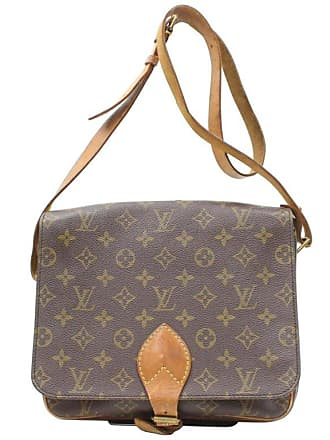 240ad70f4b6f Louis Vuitton Cartouchiere Monogram 869455 Brown Coated Canvas Cross Body  Bag