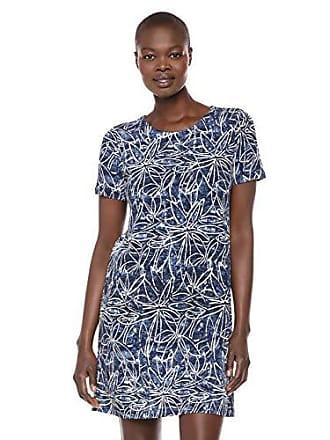 Karen Kane Womens Short Sleeve Dress, Print Extra Large