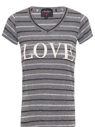 J. Chermann T-shirt Love J. CHERMANN - Cinza