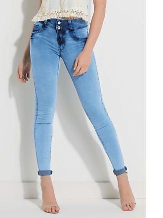 Quintess Calça Jeans Cintura Média - 44