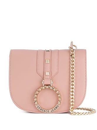 Versace Jeans Couture Pochete com aplicações - Rosa