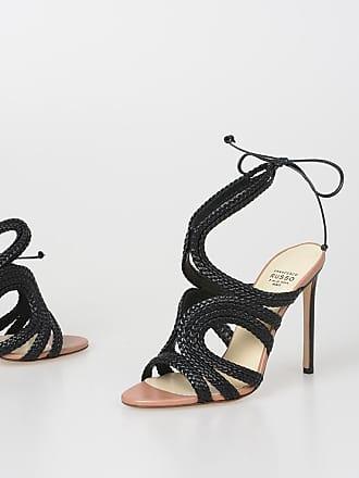 2613d7b82858 Francesco Russo 10cm Nappa Leather Sandals size 35