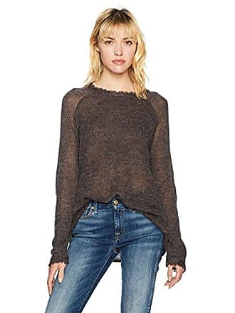 Lucky Brand Womens Rayne Pullover Sweater, Charcoal, XS
