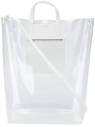Acne Studios Bolsa Baker transparente - Branco