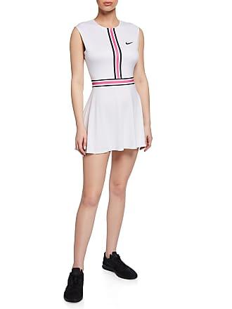 Nike Court Sleeveless Tennis Dress, White