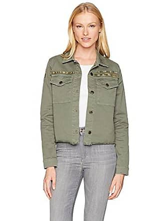 Joe's Womens Military Crop Jacket in Cubana, S