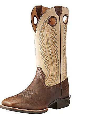 a7953f9f5a9 Ariat Mens Catalyst Plus Western Boot Bar Top Bison Size 8.5 M Us