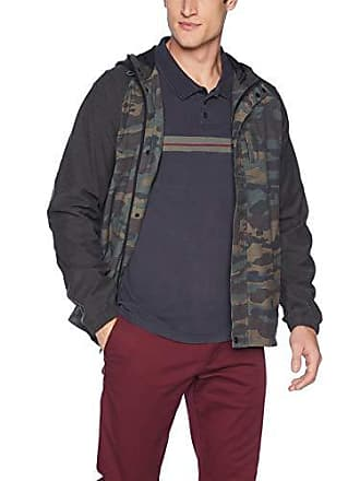 O'Neill Mens Traveler Dawn Patrol 2 Jacket, Camo, L