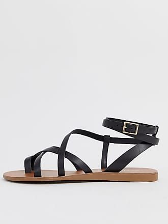 1c6ad7b25da8 Aldo Gludda leather strappy sandal in black