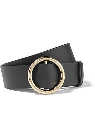4299ec9976b Frame Denim Le Circle Leather Belt - Black
